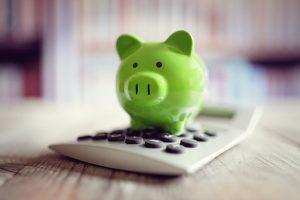 Piggy Bank & Calculator