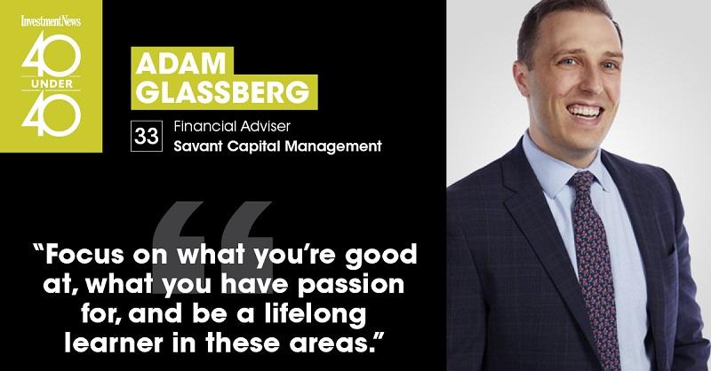 Adam Glassberg Savant financial advisor