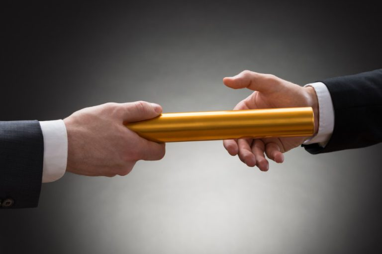 Business Succession Planning is Passing the Baton