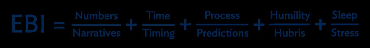 EBI Formula Explained