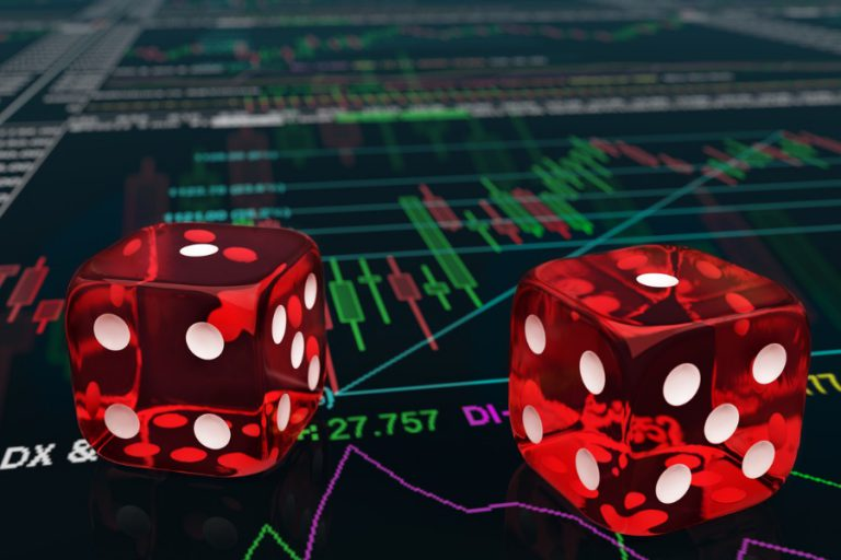 Speculative Account Gambling on Stocks and Bitcoin